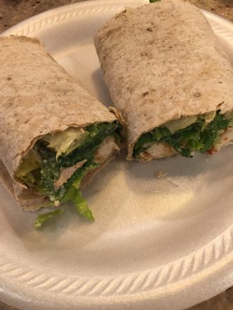 grilled chicken wrap 1
